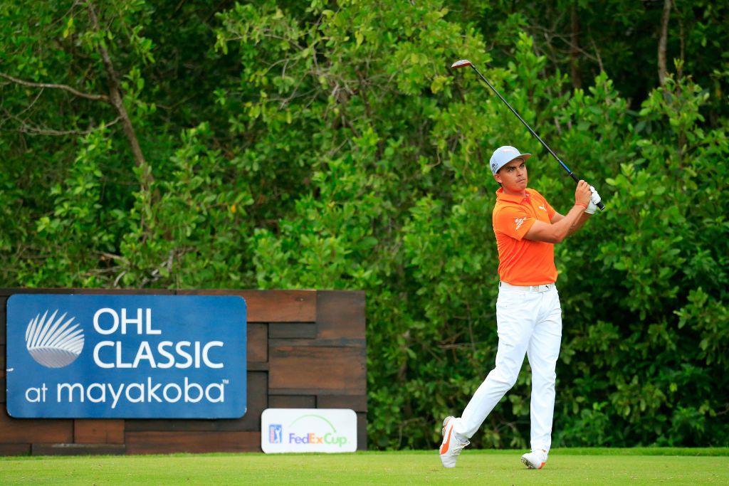 Rickie Fowler at the Mayakoba Golf Classic