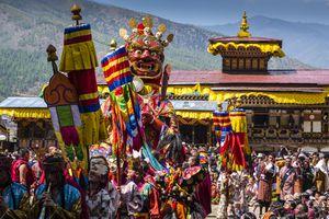 Bhutan festival.