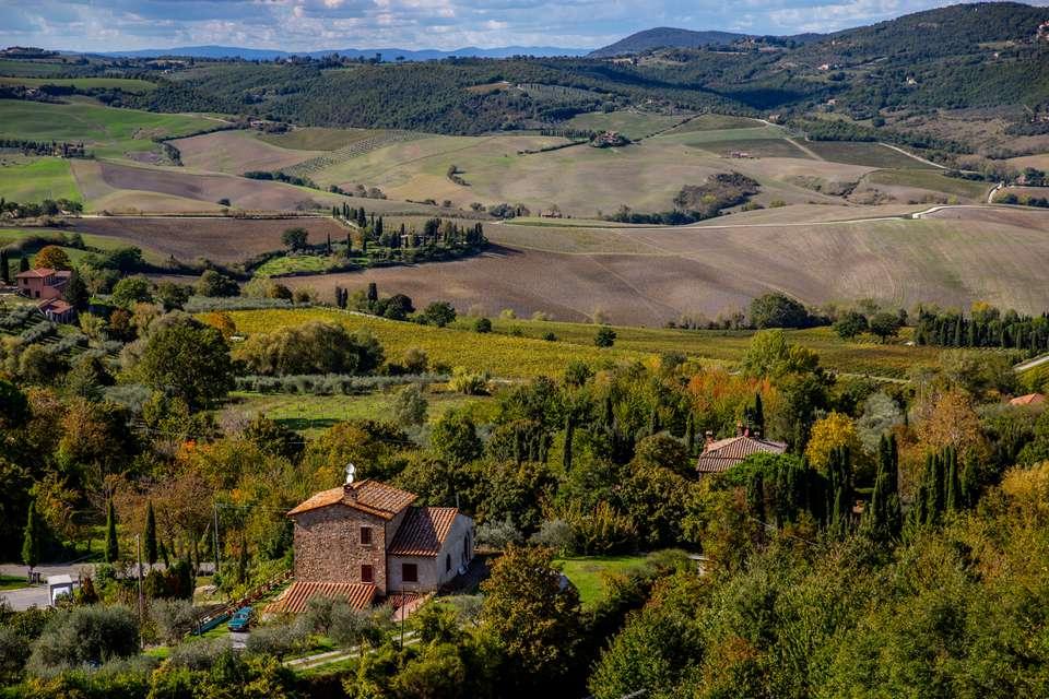 The Chianti region of Tuscany