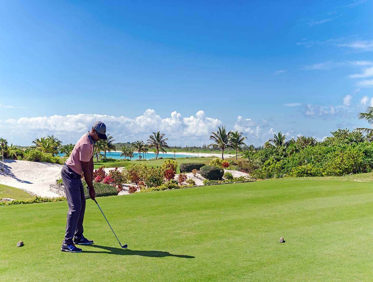 Abaco Club golf course
