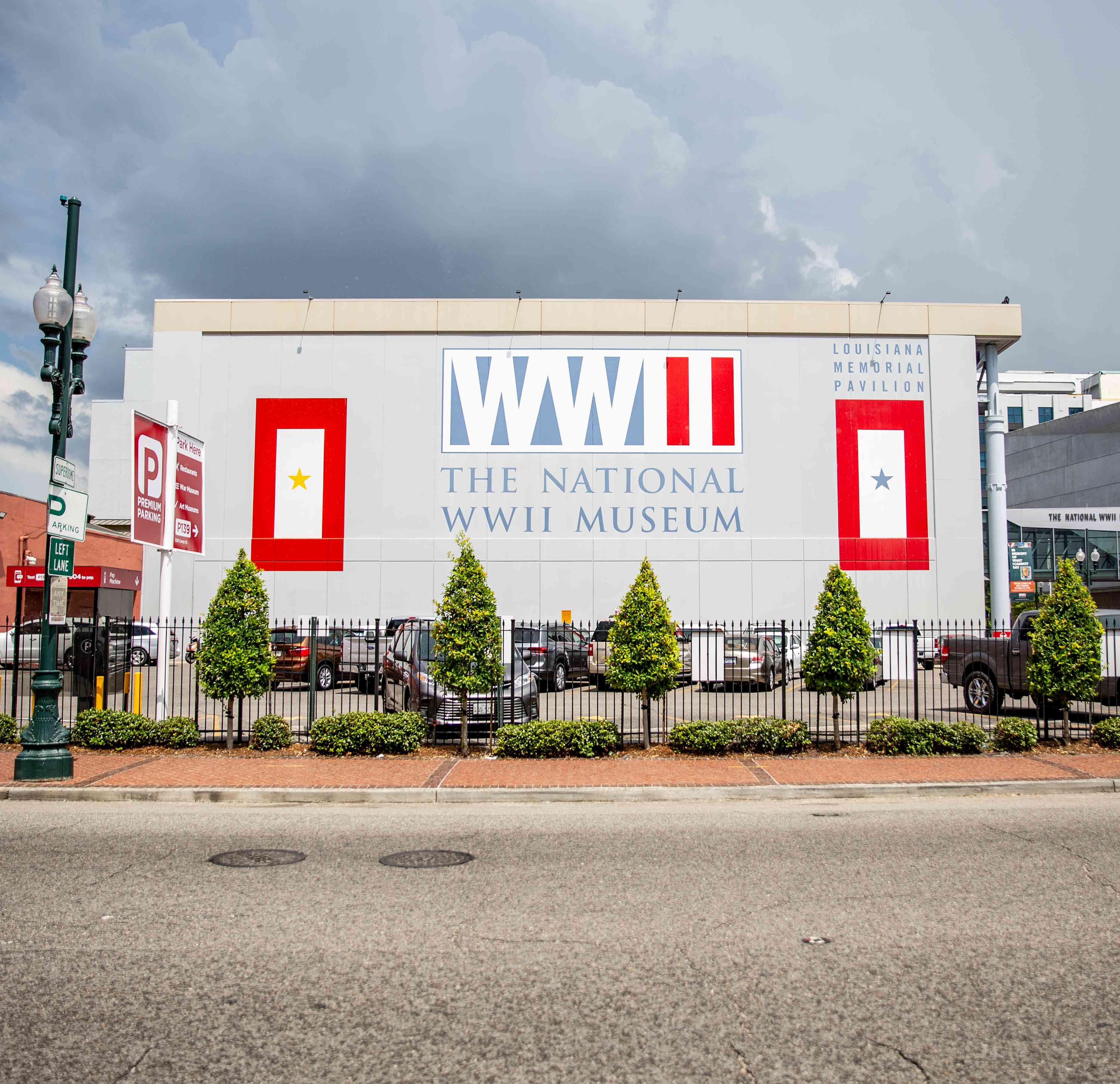 Entrance to the WWII Museum