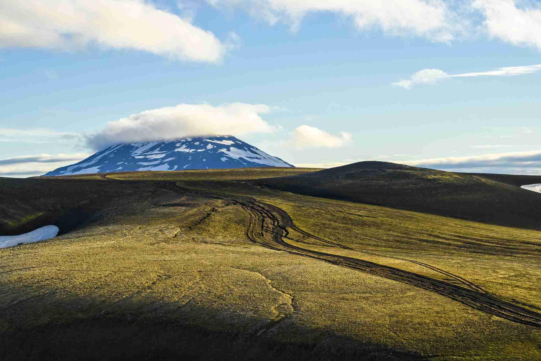 Mount Hekla, Highlands, Iceland