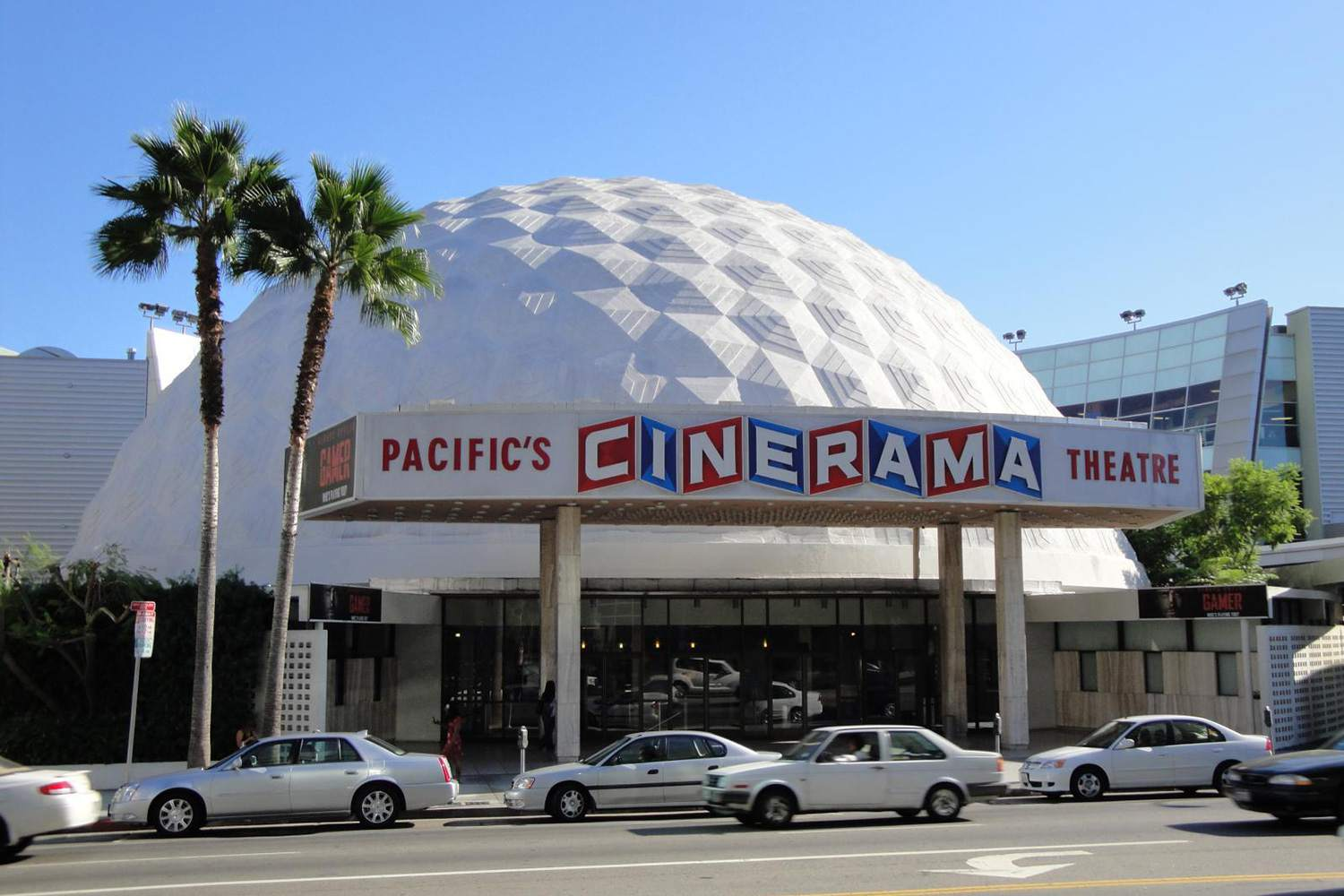 The Cinerama Dome in Hollywood