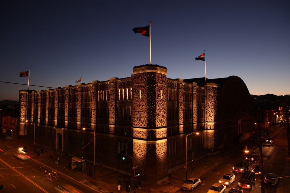 Kink.com is housed in a massive historic armory in the Mission District