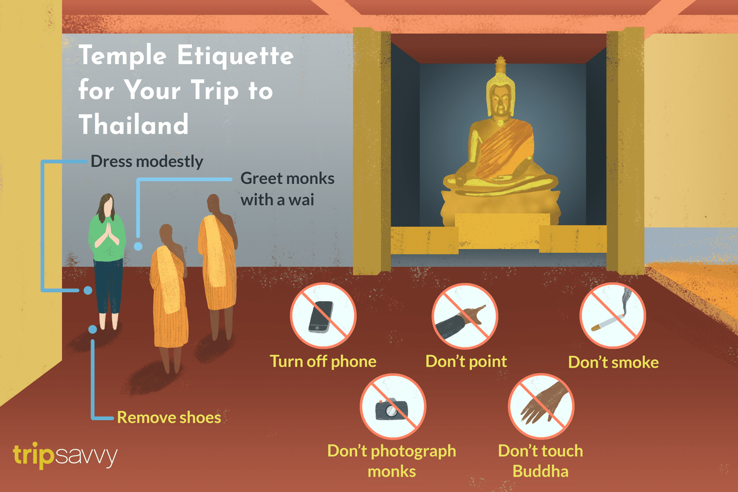 Temple Etiquette for Your Trip to Thailand