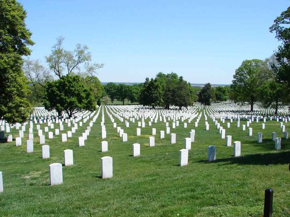 Arlington National Cemetery graves