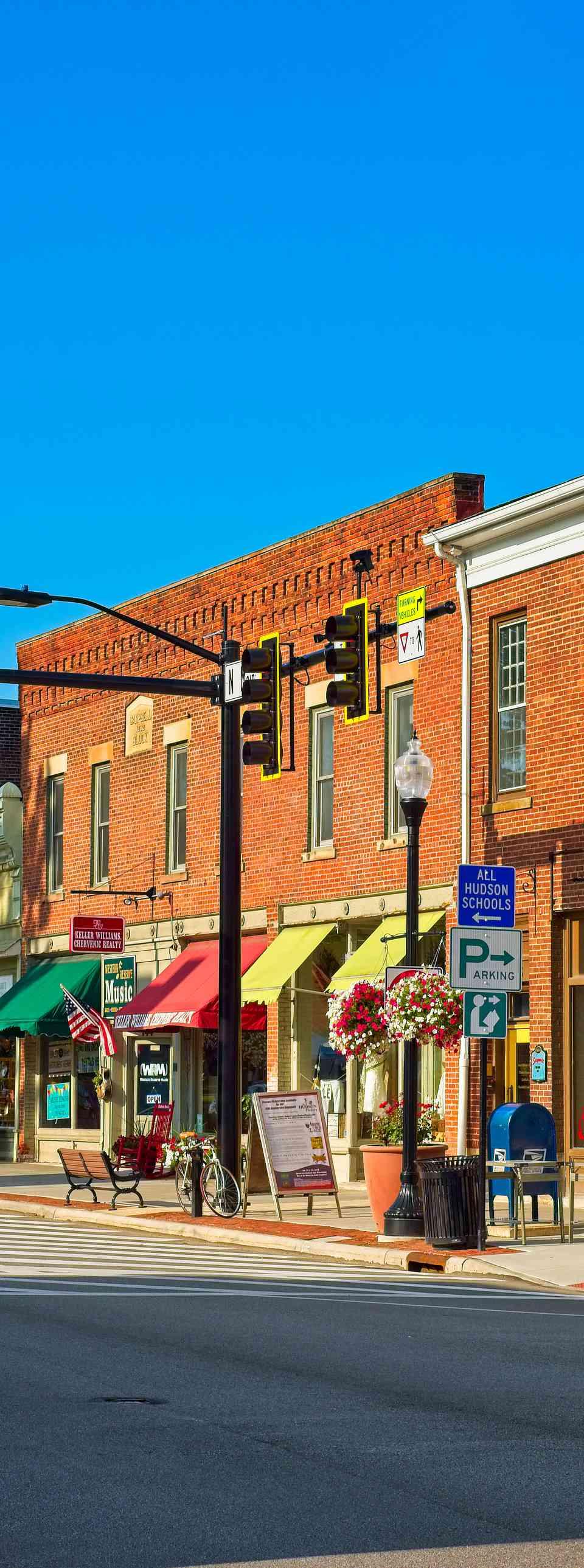 Main Street Hudson, Ohio