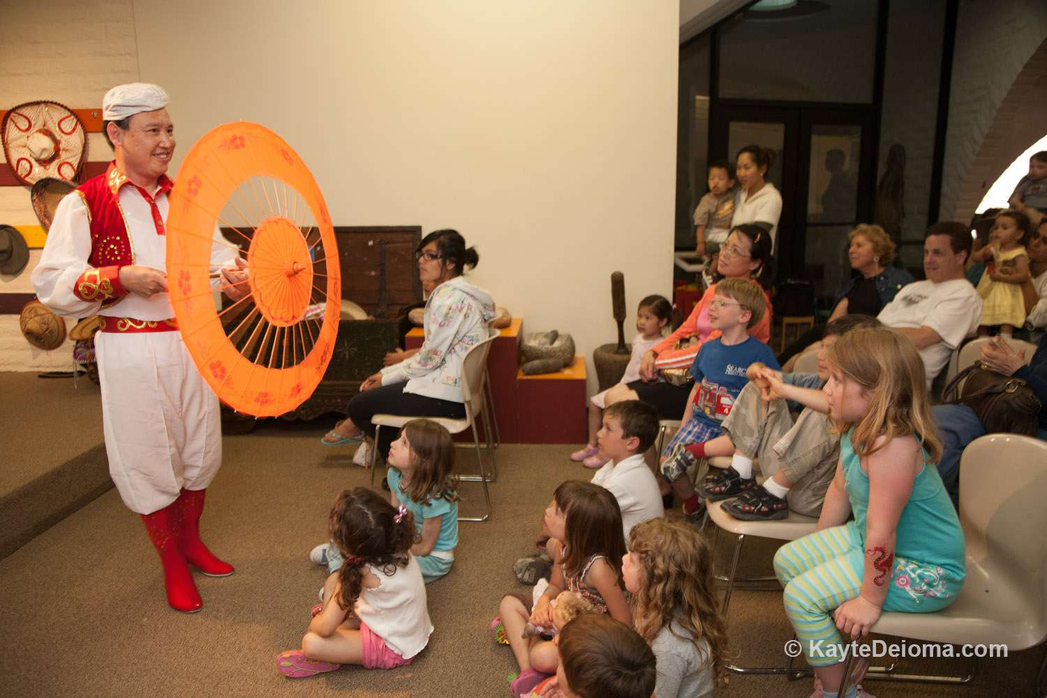 Kids' Story Time at Bowers Museum
