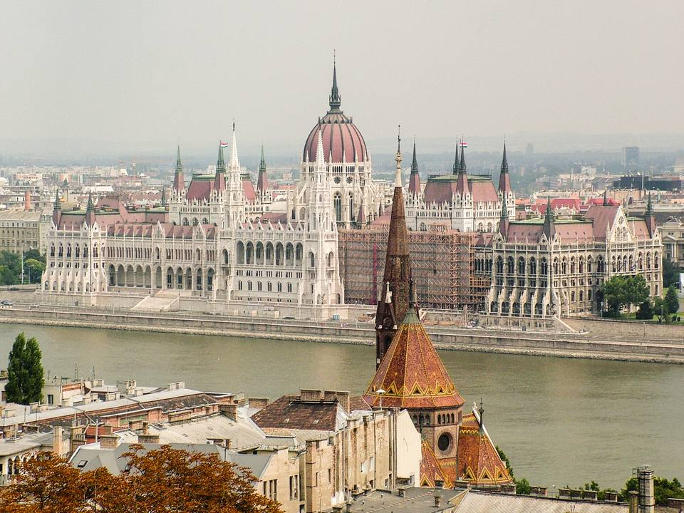 Budapest Skyline and Parliament Building, Hungary