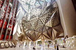 Amazing design of Morpheus Macau hotel by Zaha Hadid