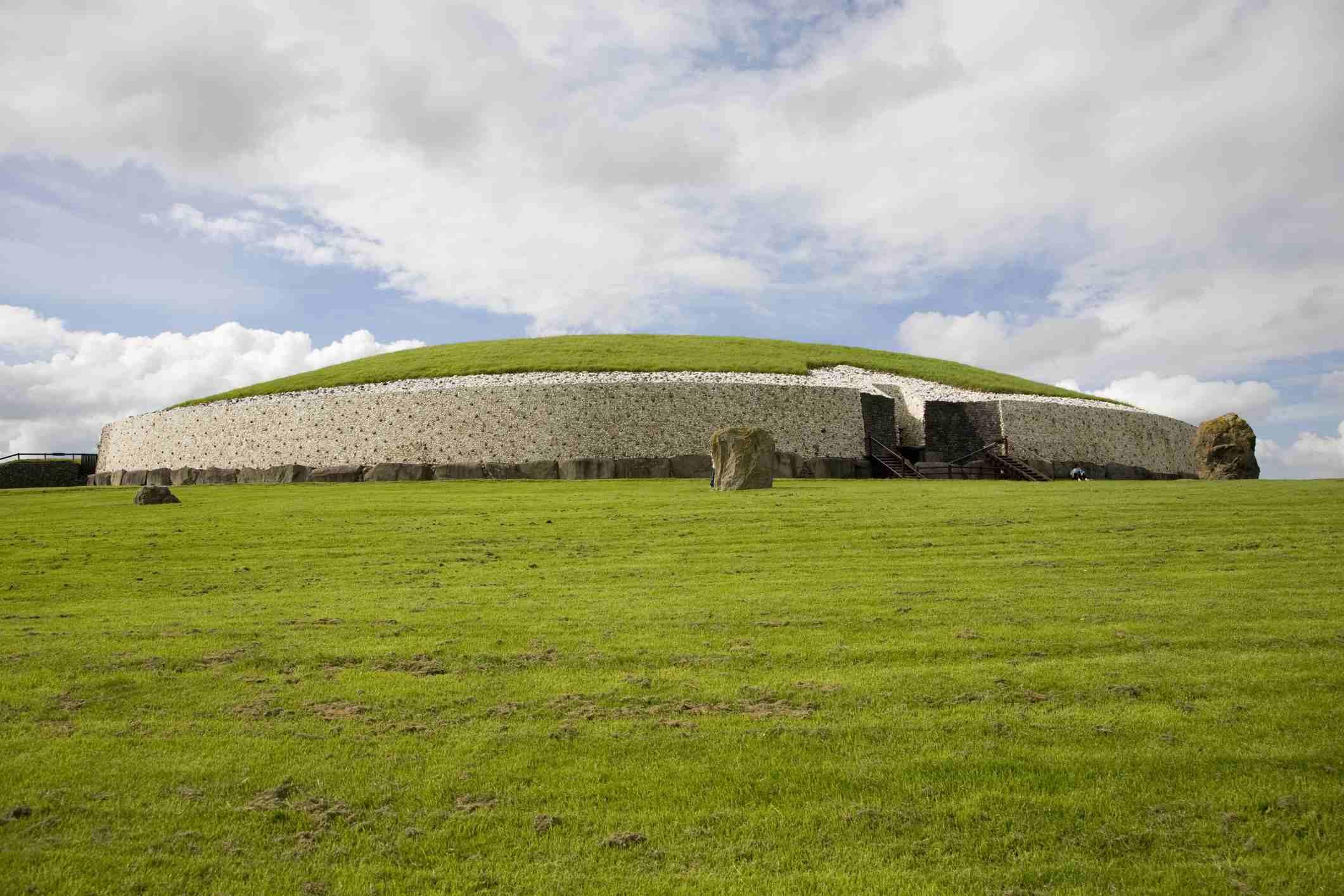 Passage tomb at Newgrange.