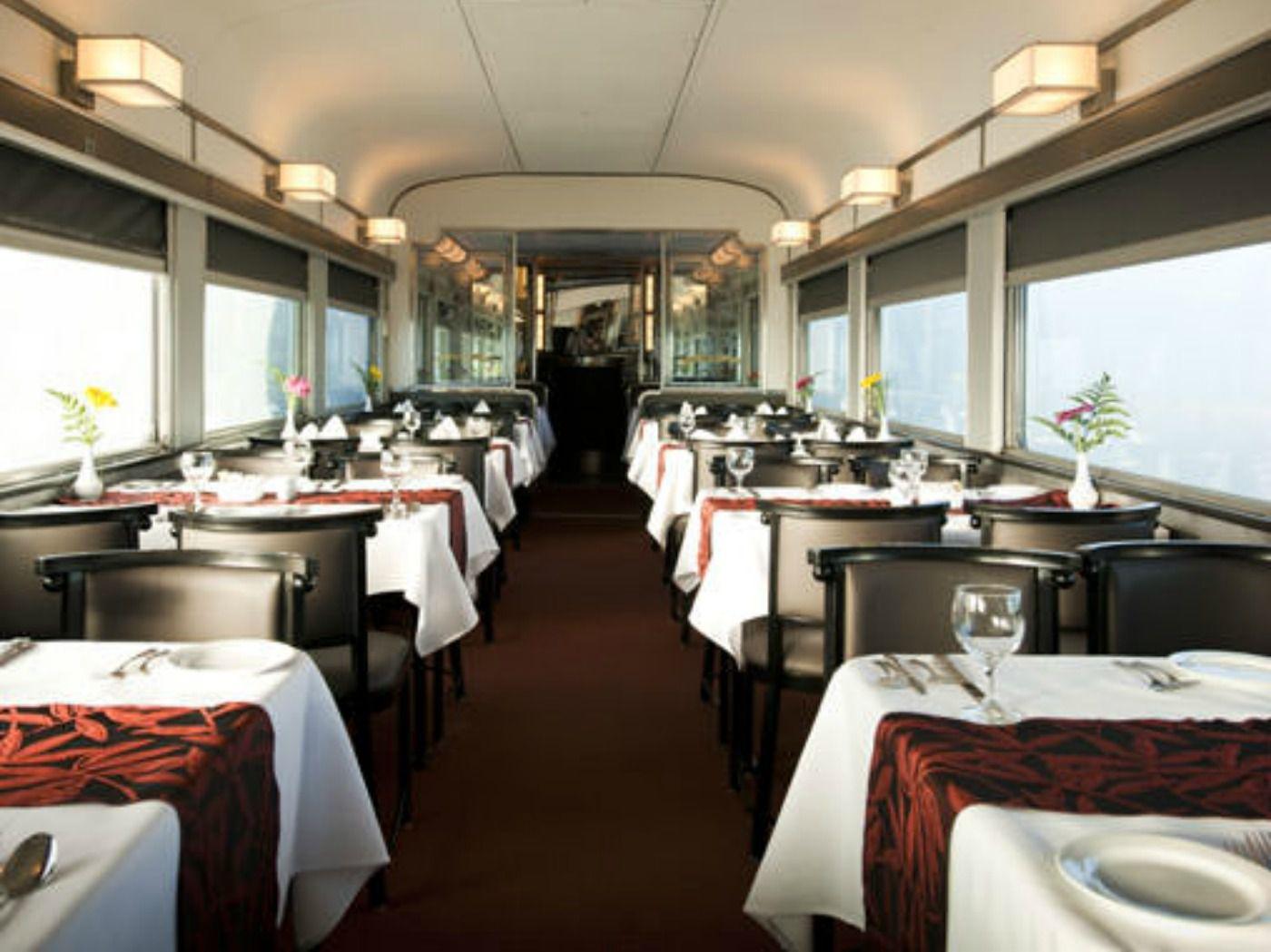 Dining Car - VIA Rail