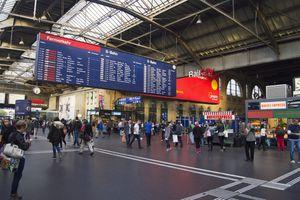 Zurich HB train station