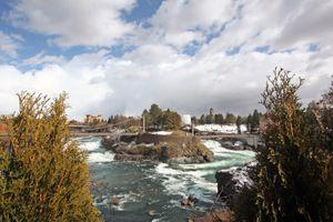View of Riverfront Park, Spokane, Washington