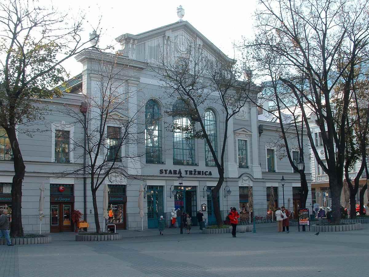 Bratislava Old Market Hall - Stara Trznica