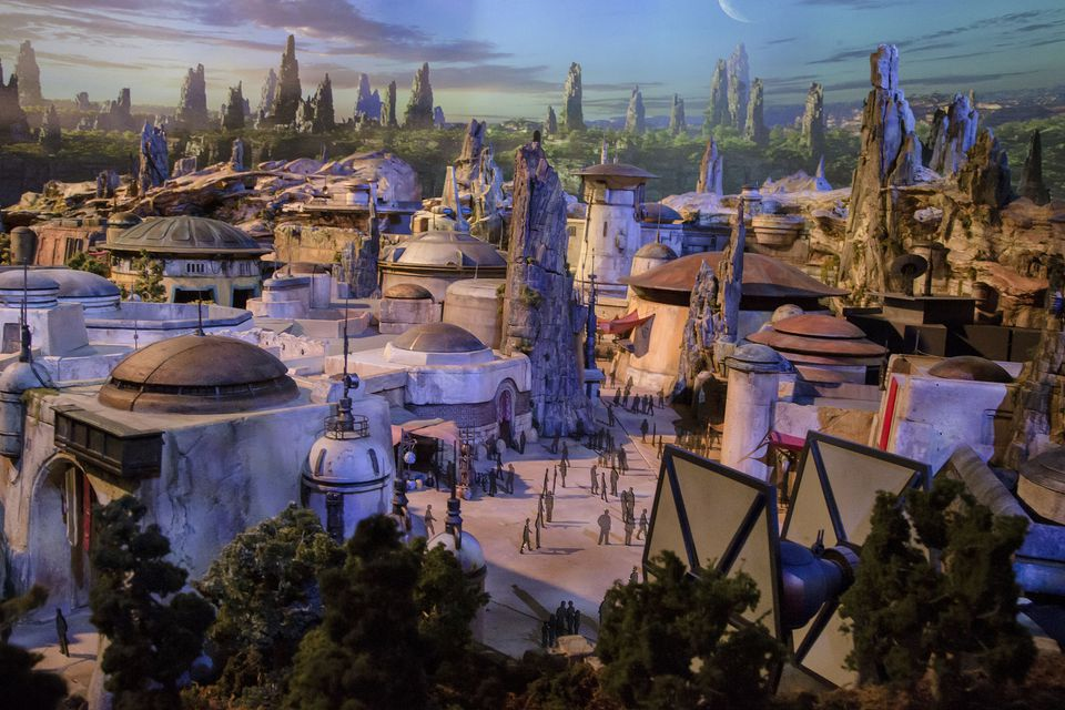Artist's Concept for Star Wars Land