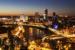 Vilnius at Dusk