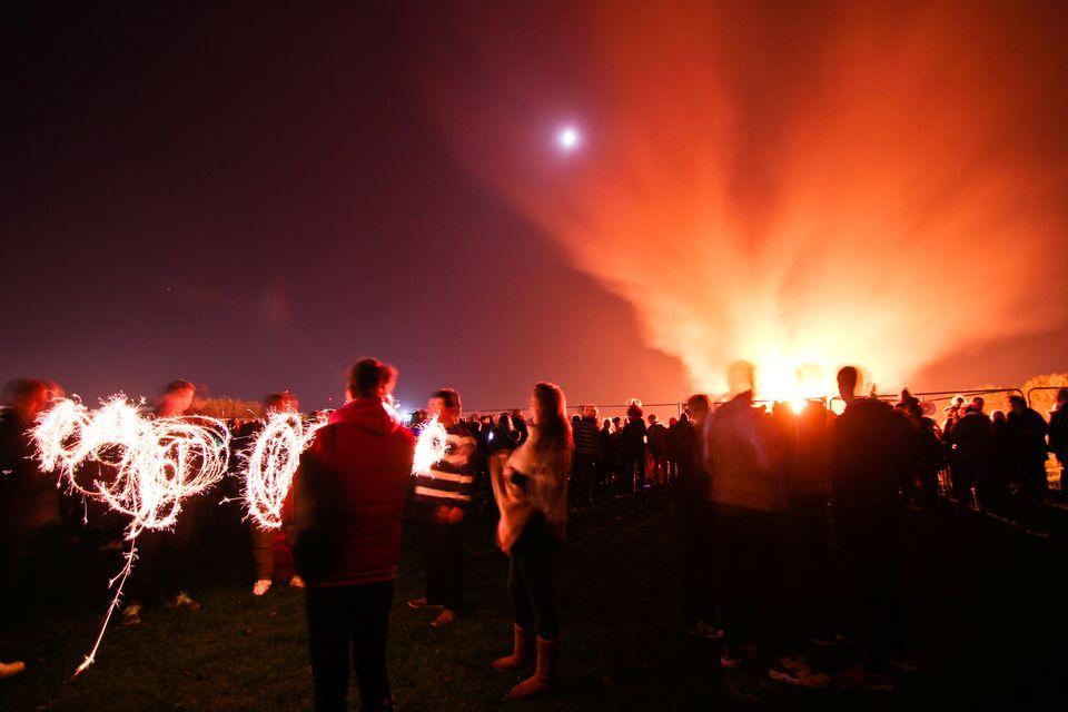 Bonfire Night, Reino Unido