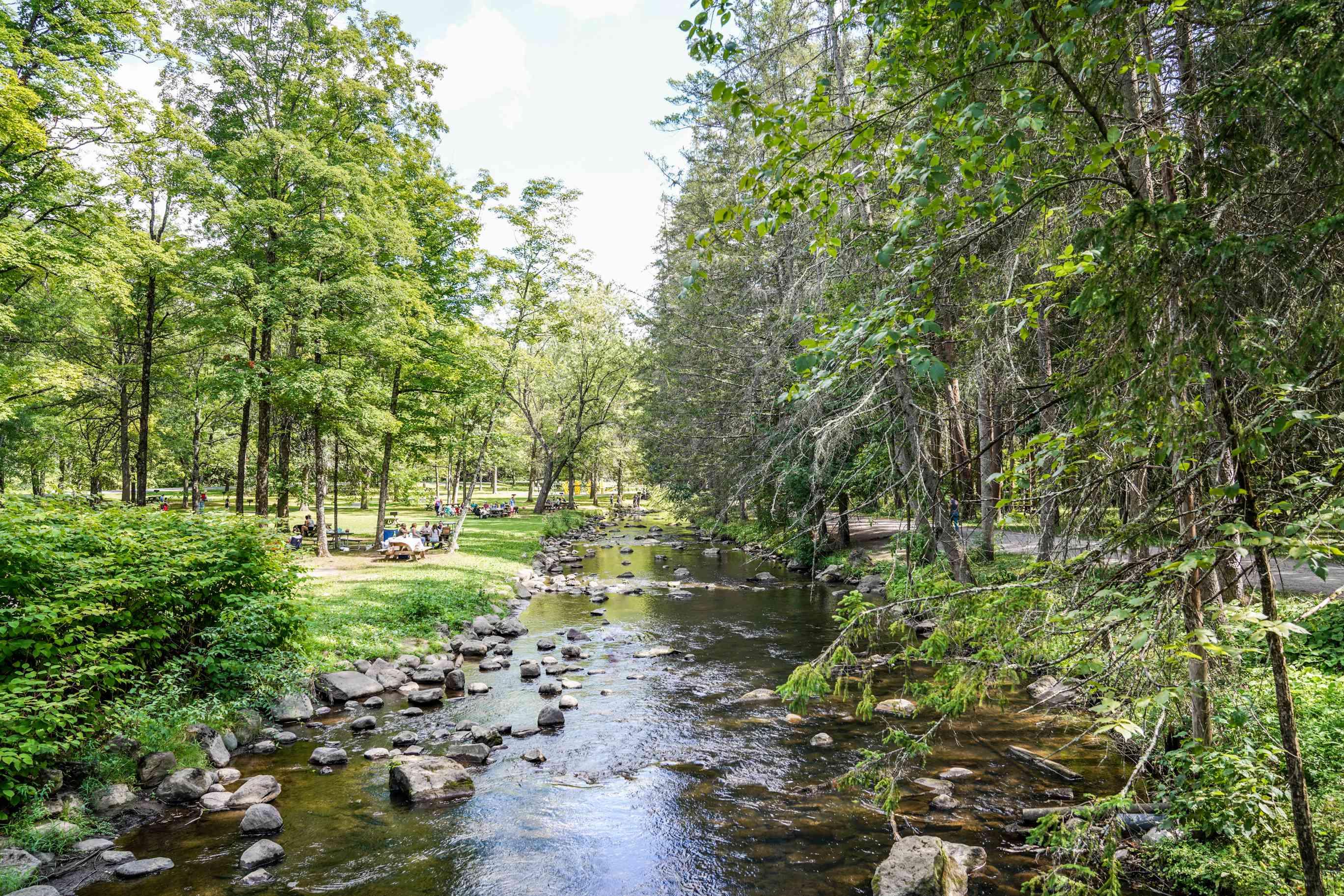 Natural Mineral Springs in Saratoga Springs