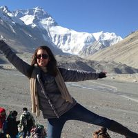 sara naumann everest base camp tibet