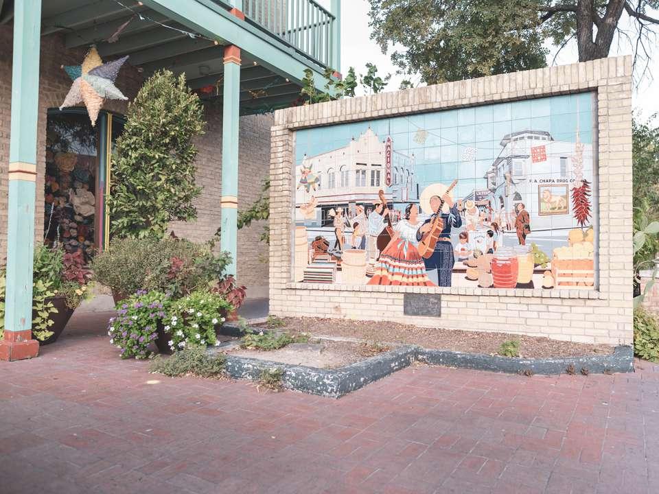 Plaza del mercado en San Antonio