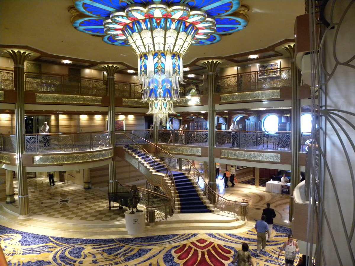 Image result for Disney Wonder interior