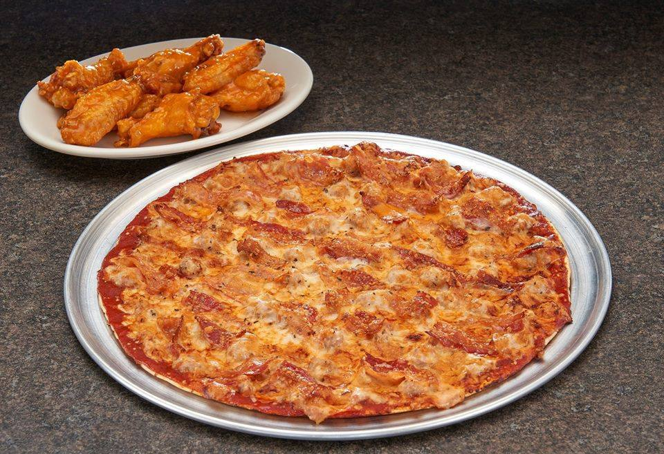 St. Louis Style Pizza and Buffalo WIngs at Imo's
