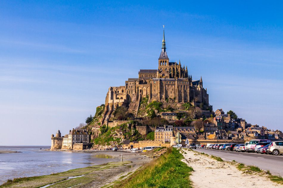 Mont St-Michel Abbey and Bay