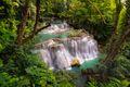 Huay Mae Kamin Waterfall, beautiful waterfall
