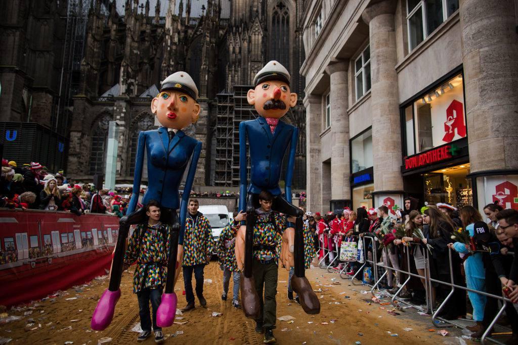 Rose Monday Carnival Parades, Cologne. Germany