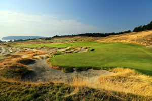 General Views of Chambers Bay Golf Course