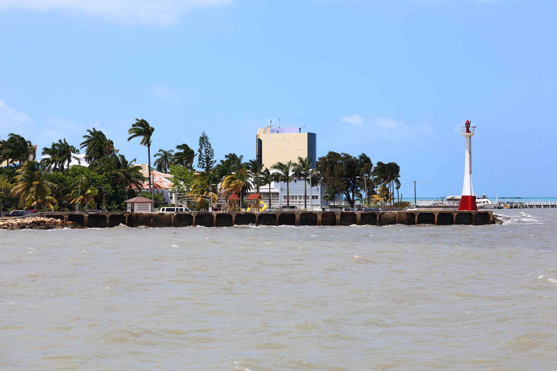Port of call in Belize City