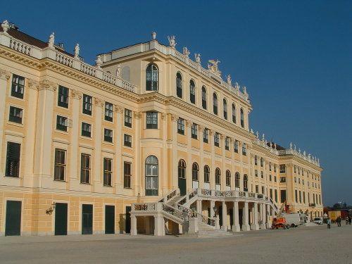 Palacio de Schonbrunn en Viena, Austria