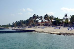 Maria La Gorda beach in Cuba