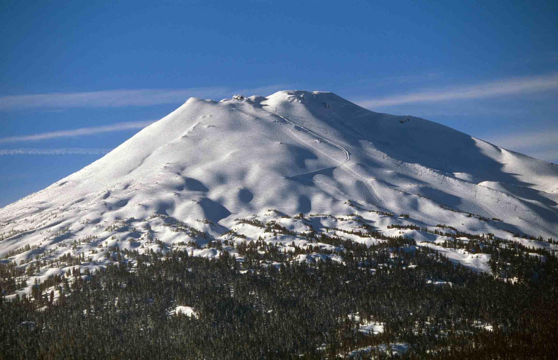 Mount Bachelor Oregon in Winter