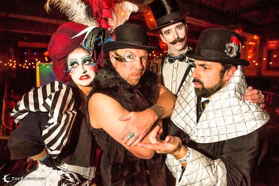 Having Fun at the Edwardian Ball