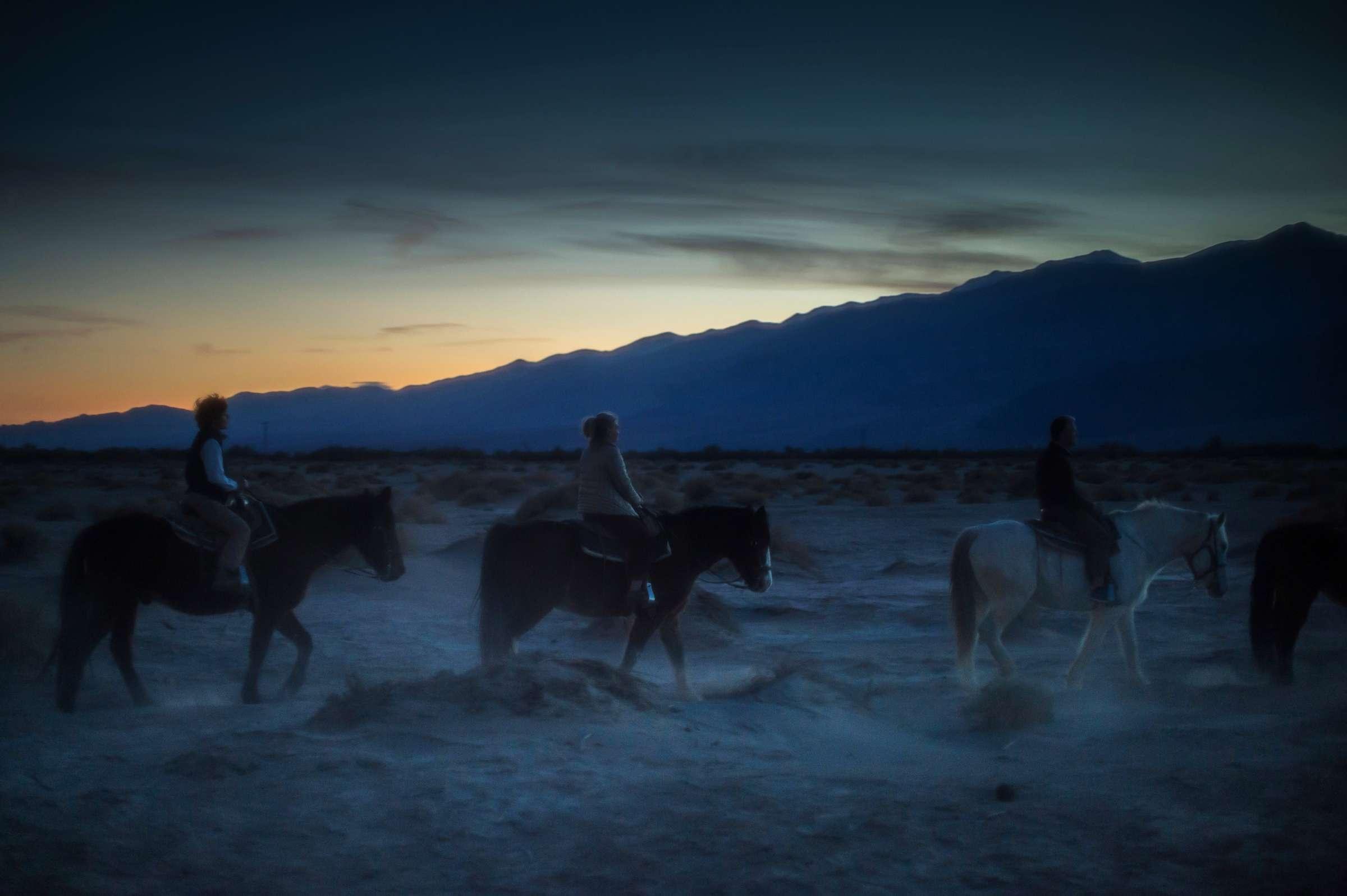 Moonlight Horse Ride, Death Valley