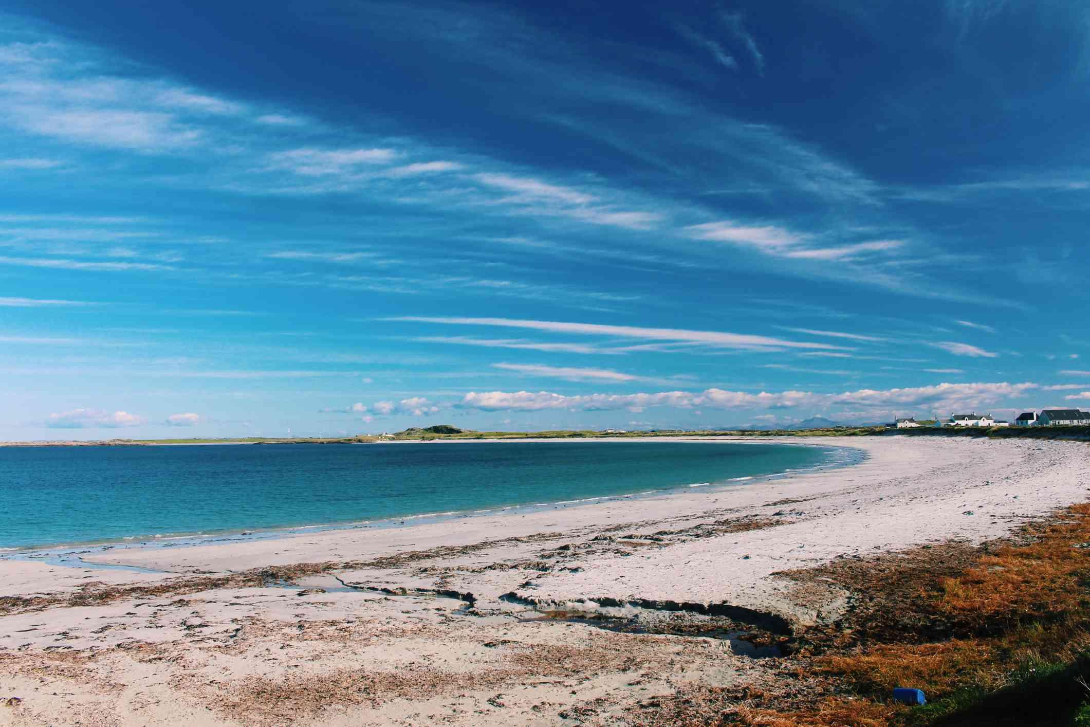 Isle of Tiree in Scotland