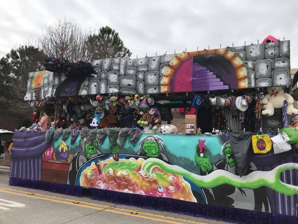 Orpheus Parade Float