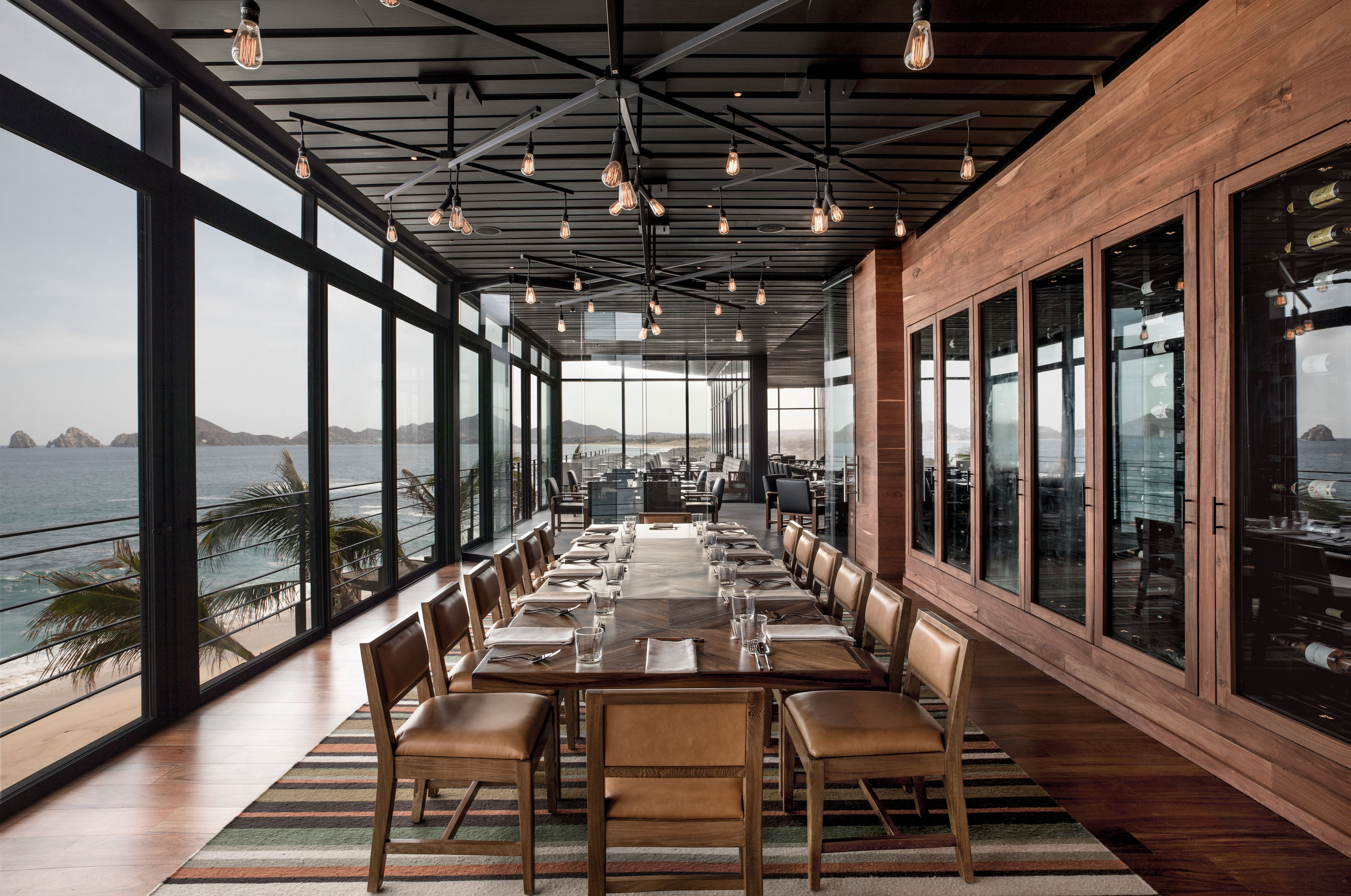 Manta's private dining room at The Cape