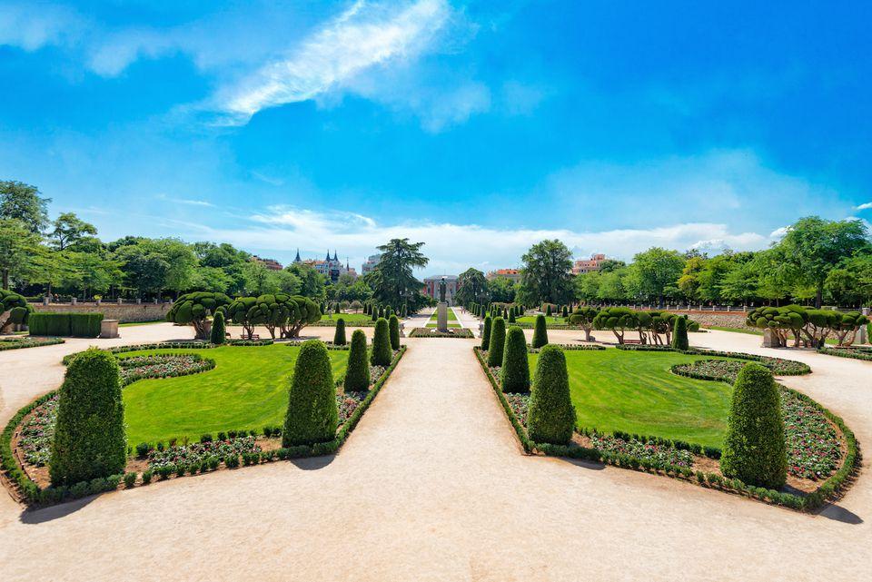 Retiro park Madrid