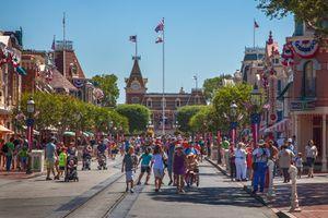 Main Street USA, Disneyland