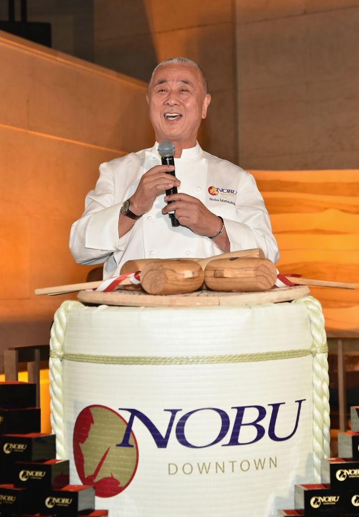 Nobu Downtown Sake Ceremony