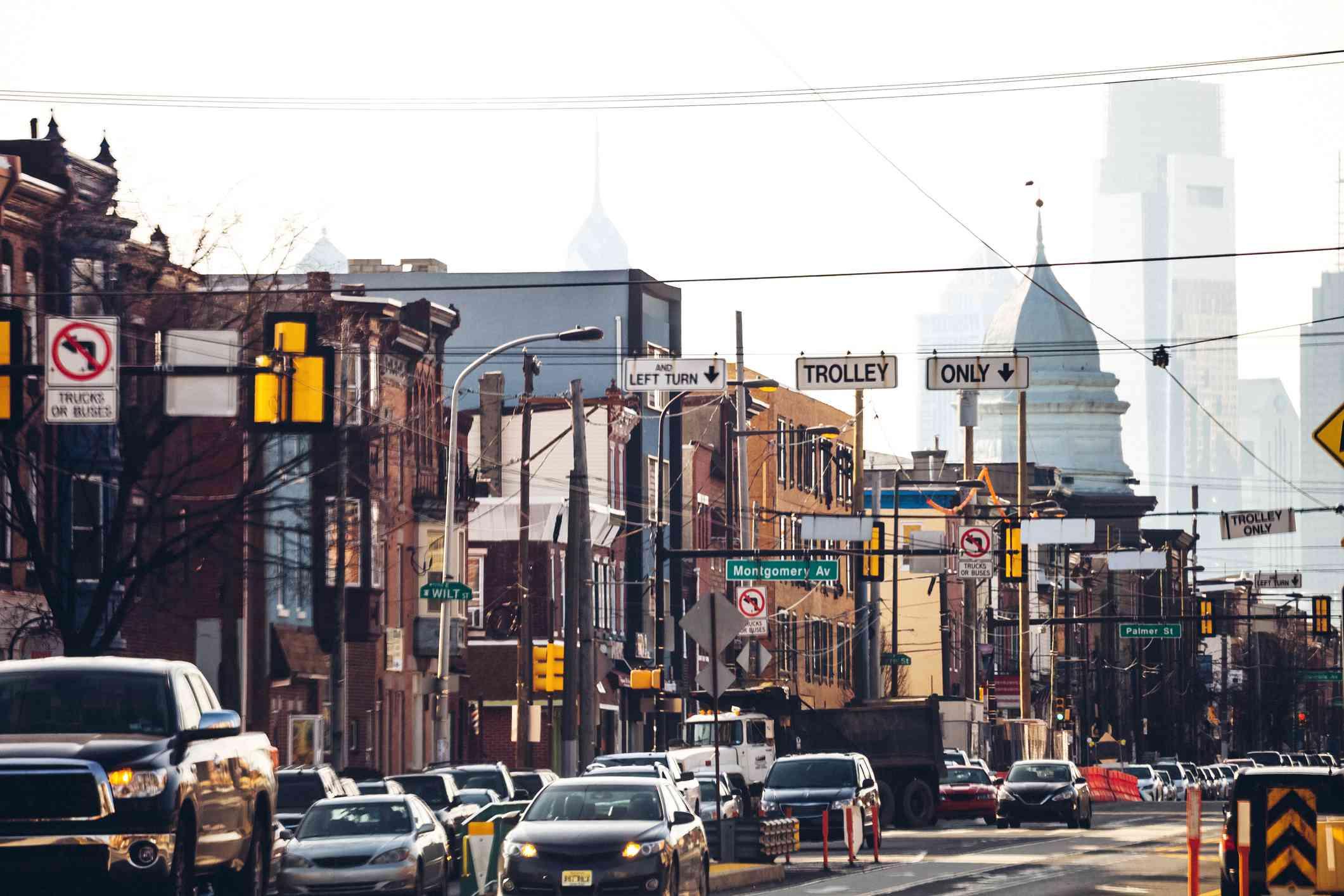 Fishtown neighborhood of Philly