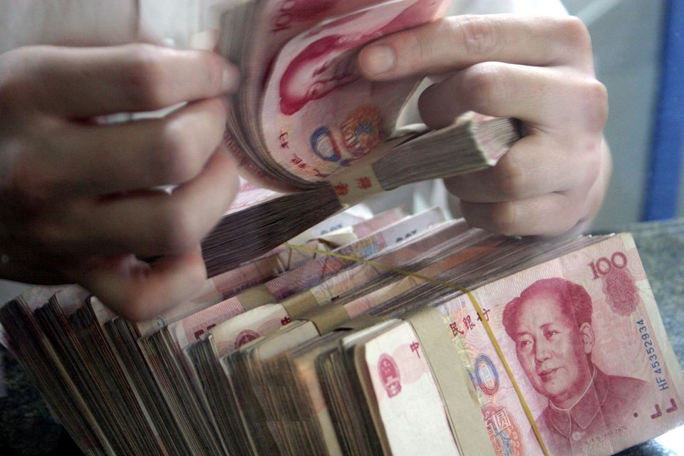 RMB China currency yuan