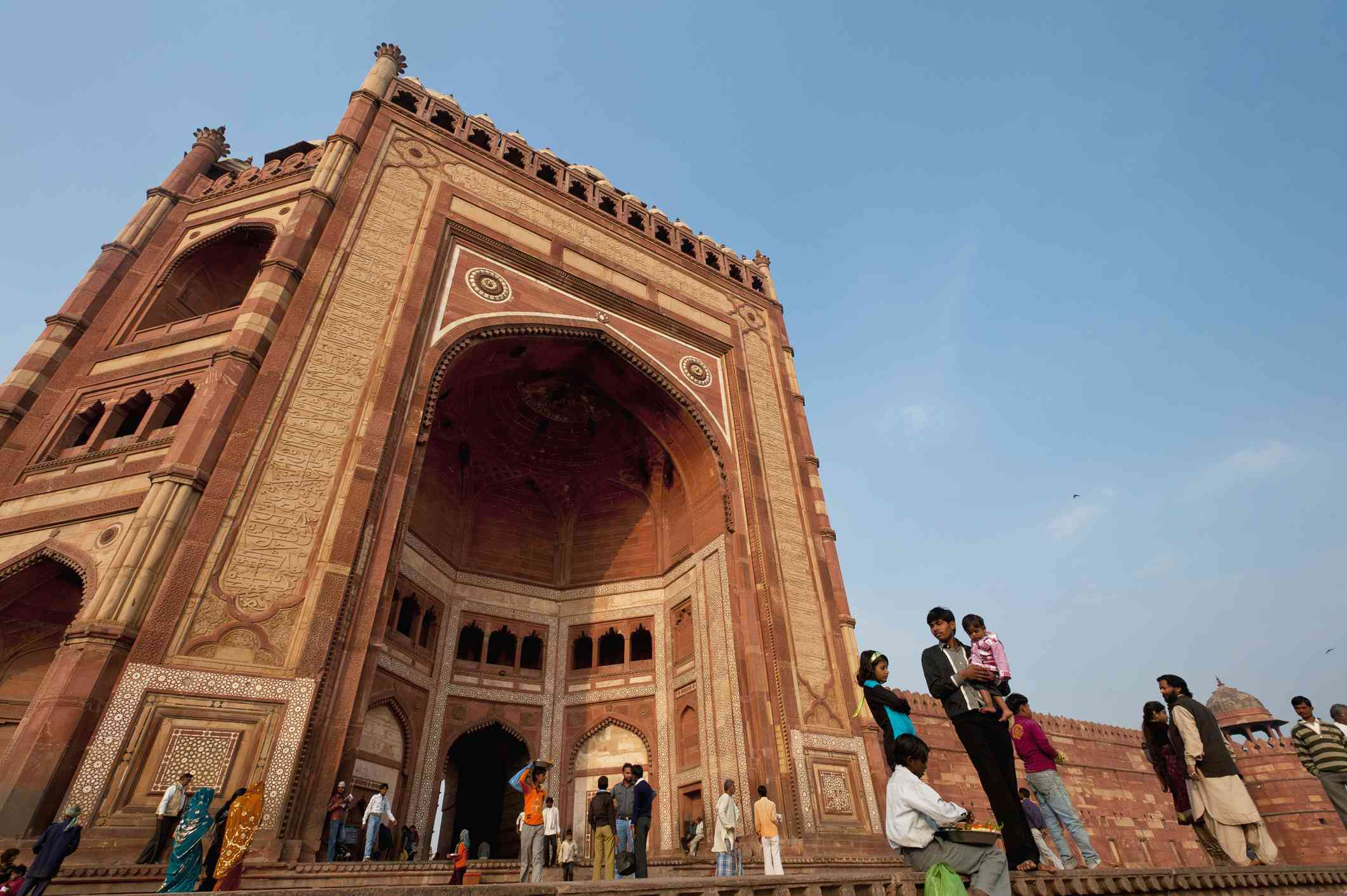 Fatehpur Sikri; Agra, Buland Darwaza (Great Gate) of Jami Masjid