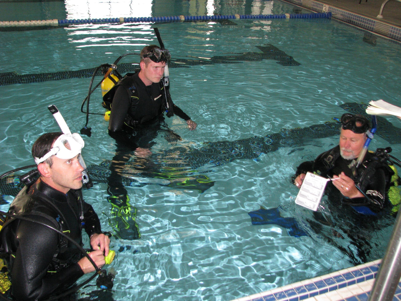 New diving skills