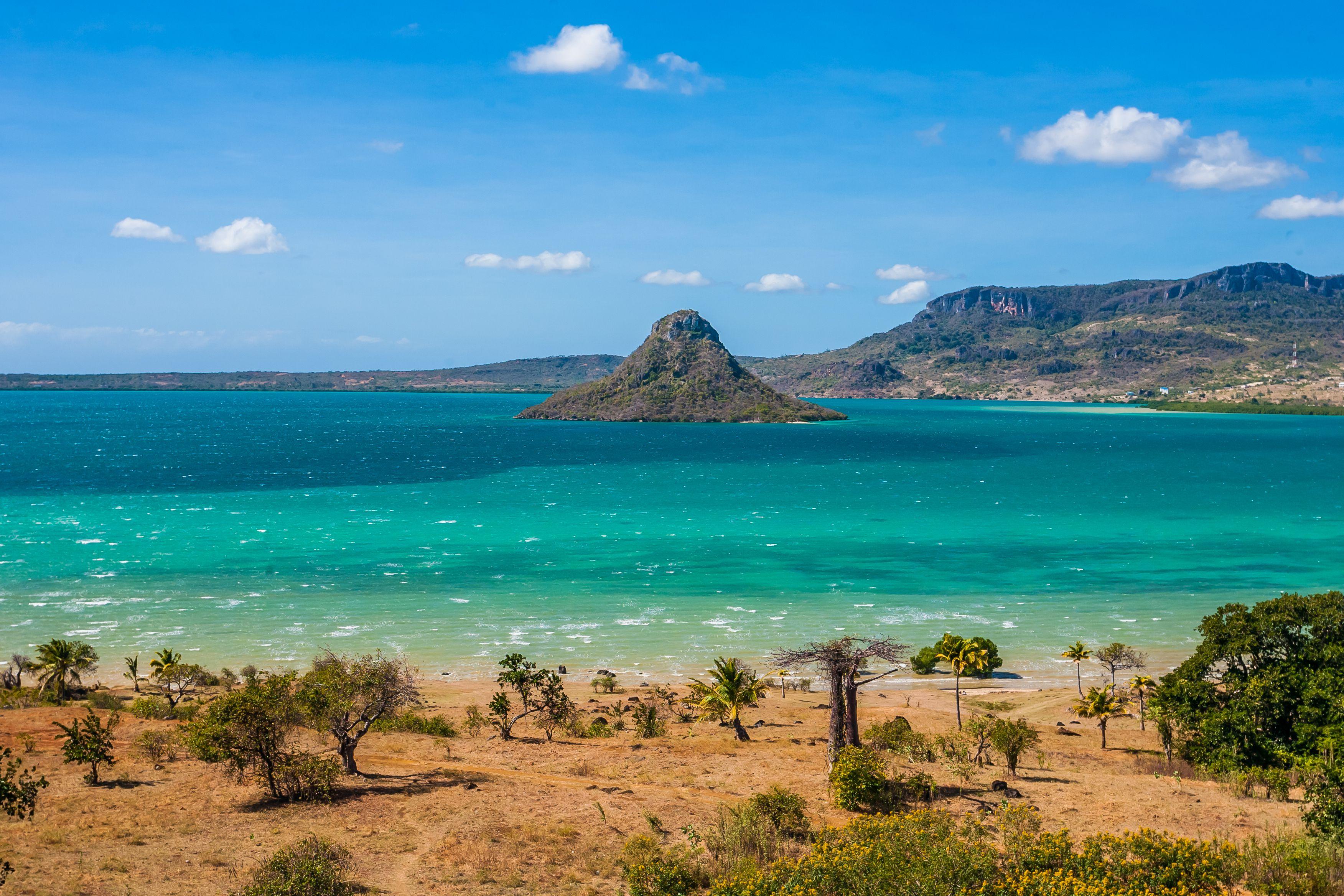 Sugarloaf of Antsiranana bay, northern Madagascar