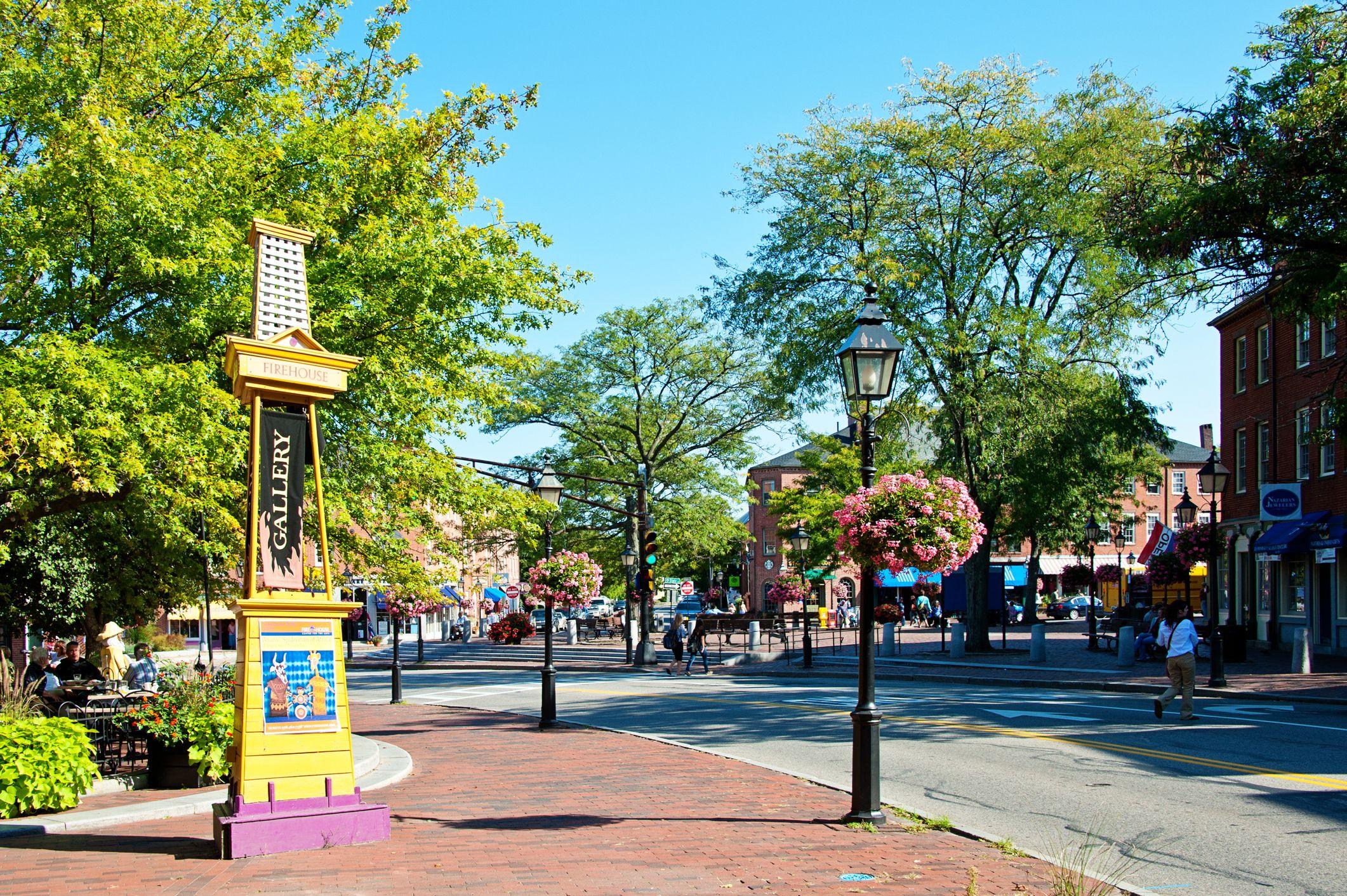 Newburyport in Massachusetts
