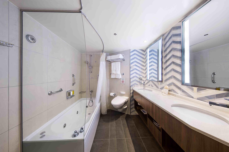 Bathroom in a Neptune Suite on the Holland America Eurodam